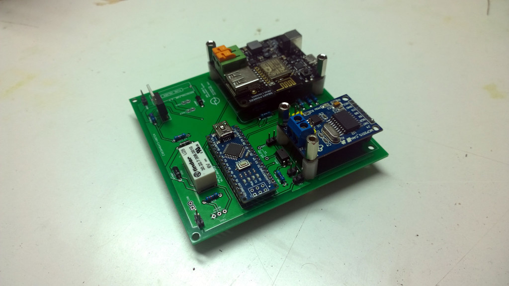 Figure 02 - Populated Control Board