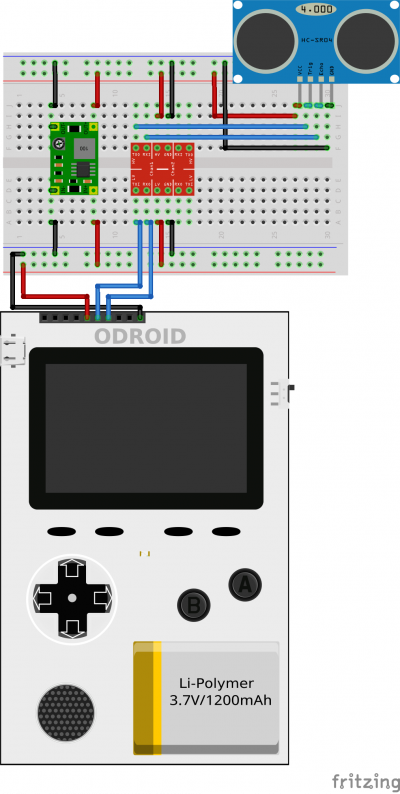 Figure 3 - Load Arduino Ultrasonic Distance Meter Application