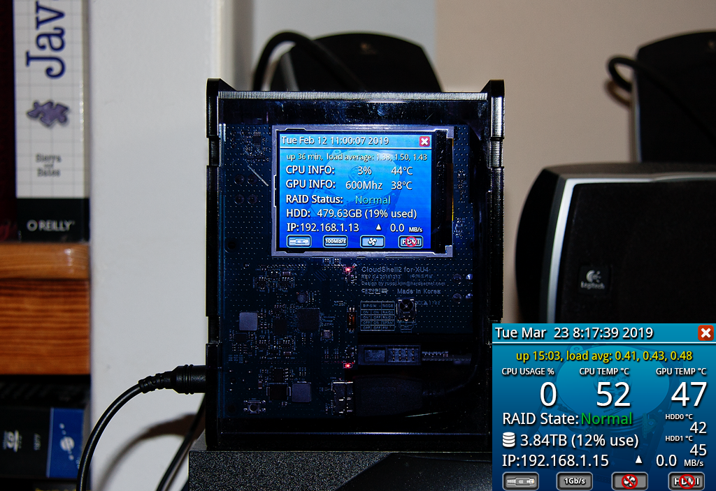 CloudShell2 LCD Display and Monitoring Tool | ODROID Magazine