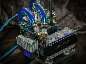 liquid cooled ODROID server