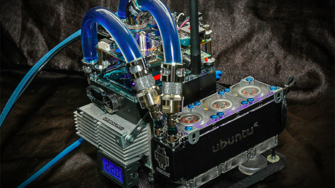 liquid cooled ODROID server