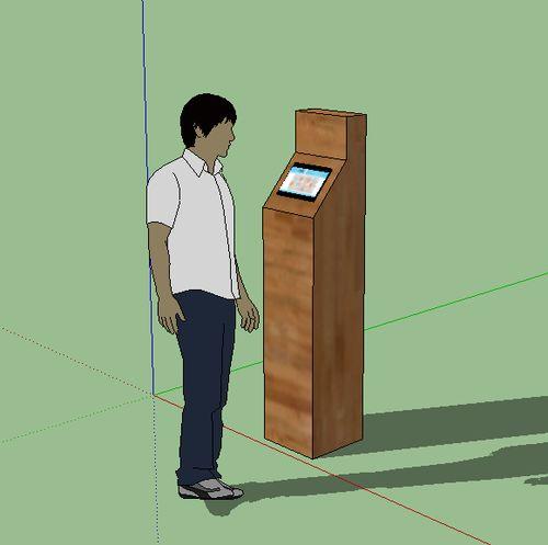 Figure 1 - Web Kiosk